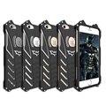 Перевозка Груза падения Новое Прибытие R-JUST Metal Batman Phone Case Противоударный Броня алюминиевый Корпус Для iPhone SE 5 5S 5C 6 6 Плюс 7 плюс