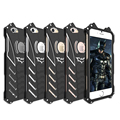 Drop Shipping New Arrival R-JUST Metal Batman Phone Case Shockproof Armor Aluminum Housing  For iPhone SE 5 5S 5C 6 6Plus 7 Plus