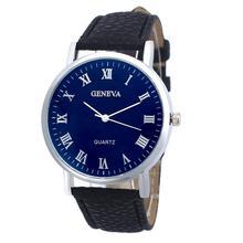 Relojes Geneva Fashion Leather Watch Analog Quartz Ladies mujer dress women watches 2016 brand luxury kors wrist watch