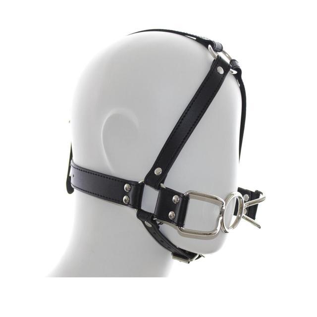 strap blowjob Head gear