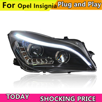 Car Styling For Buick Regal headlights For Opel Insignia head lamp led DRL front light Bi Xenon Lens xenon HID KIT 2014 2016