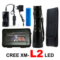 6000Lumens X900 Flashlight Zoomable LED Light CREE XM L T6 L2 Tactical Lamp Torch Outdoor Lighting