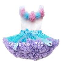 ראש פרח ורוד + סט חצאית, תינוק שמלה, pettiskirt, שמלת טוטו, בנות טוטו חצאית/משלוח חינם