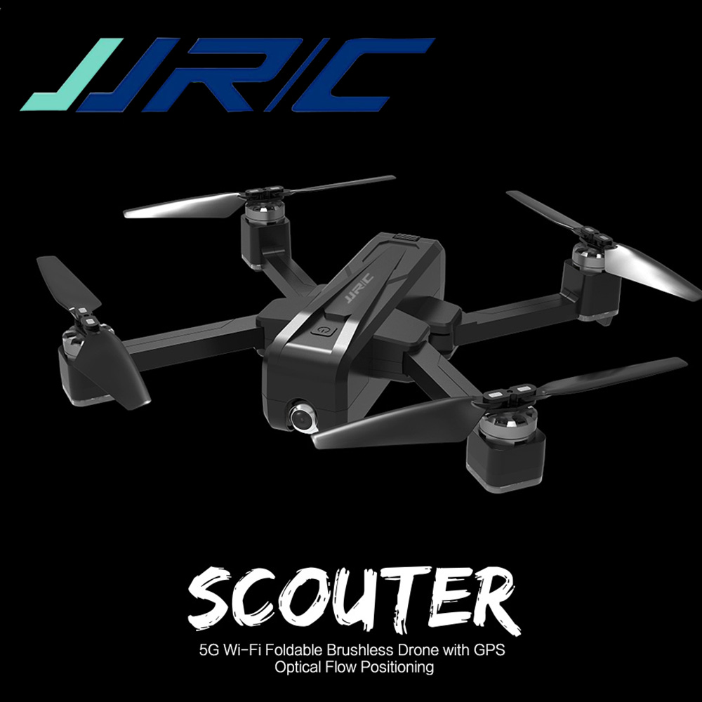 <font><b>JJRC</b></font> <font><b>X11</b></font> RC <font><b>Drone</b></font> 5G WIFI FPV With 2K HD Camera GPS 20mins Flight Time Foldable Remote Control Dron Foldable Quadcopter Kids Toy image