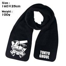 Tokyo Ghoul Kaneki Ken Anime Winter Men Women Unisex Warm Shawl Scarf Soft Wrap anime tokyo ghoul cosplay kaneki ken casual fashion men and women large capacity travel backpack