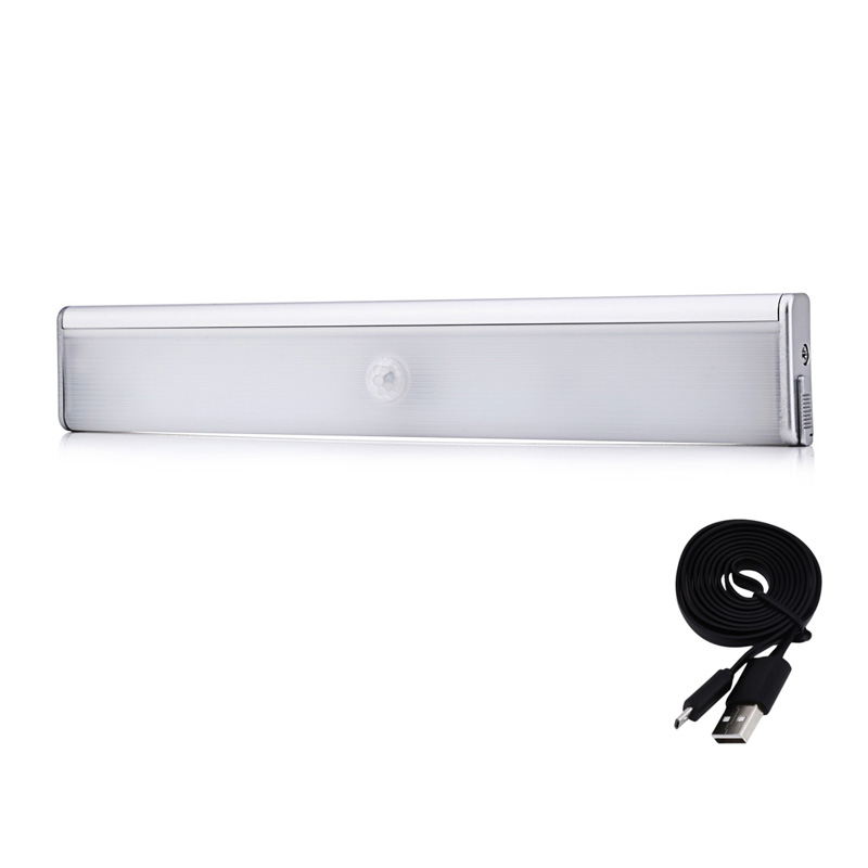 Home kitchen led motion sensor closet cabinet light lamp for Wireless closet lighting