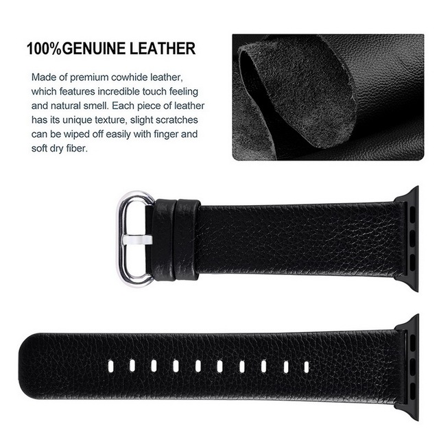 Genuine Cow Leather Bracelet Band