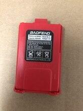 BL 5 Baofeng UV 5R иди и болтай Walkie talkie батарея 1800 мА/ч, 100% оригинальный литий ионный аккумулятор для baofeng UV 5RE UV 5RA UV 5R dm 5R плюс красный цвет
