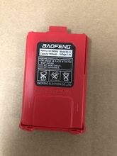 BL 5 baofeng UV 5Rトランシーバーバッテリー1800 100% オリジナルリチウム電池baofeng UV 5RE UV 5RA UV 5R dm 5Rプラス赤色