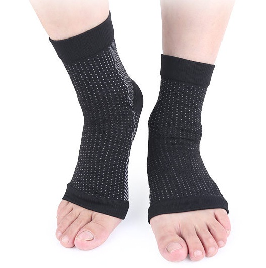 d4542ac499 Plantar Fasciitis Foot Compression Sleeves for Injury Rehab & Joint Pain. Ankle  Brace - Instant Relief & Support for Fallen Arch