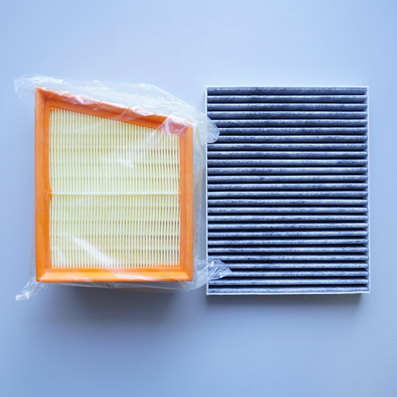 air filter + cabin air filter for ford Ecosport / new Fiesta #FK1400-1air filter + cabin air filter for ford Ecosport / new Fiesta #FK1400-1