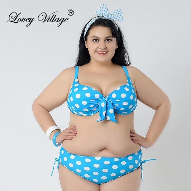 20b3044d5d858 Lovey Village 50s Retro Vintage Push Up Bikini Swimwear Swimsuit Women  Padded High Waist Bikini Set