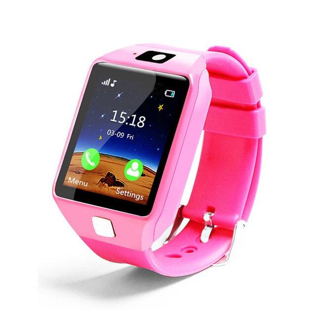 PIKANOMI New 1.54 Inch Touch Screen Smart Watch Children Wrist Smartwatch Bluetooth Watch With SIM Card Passometer
