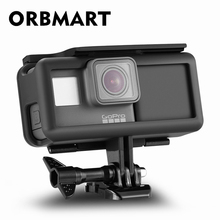 ORBMART Protective Housing Case Frame + 2300 mAh Durable Battery Inside Power Bank For Gopro Hero 5 6 Black Action Sport Camera