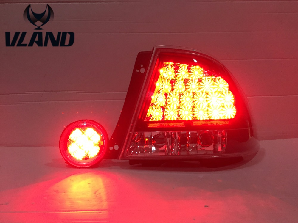 Free shipping for car LED Tail lamp for Lexus for IS200 LED taillights Year 1998 2000 2002