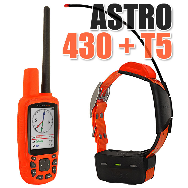 1+1 Original Brand New For GARMIN Astro 430 Tracking System with T5 Dog Collar with battery (American Version) garmin astro 320 с ошейником t5