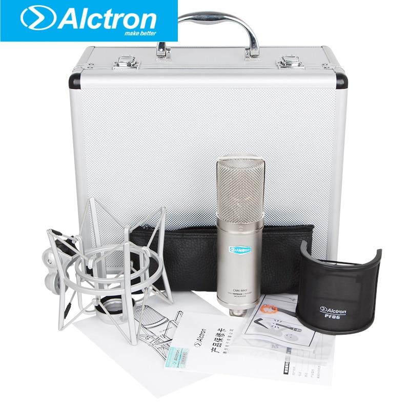კონდენსატორის Alctron CM6 MKII - პორტატული აუდიო და ვიდეო - ფოტო 5