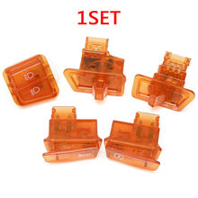 5 pcs Motorcycle Starter Button Switch Moped Scooter Turn Signal Headlight Horn Switch Head Light Horn Dimmer Turn Switch New original new 100% 3520s 001 501 500 euro 5 circle turn wirewound potentiometer switch