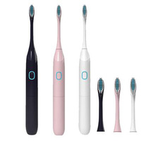 Electric Toothbrush Upgraded Adult Waterproof Ultrasonic automatic Toothbrush Health Products Battery Operated