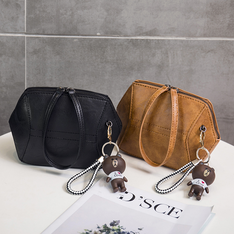 Fashion Women Crossbody Bag Toy Bear Decoration Single Shoulder Bag Designer Patchwork Cell Phone Bag Star Loved Street Bag