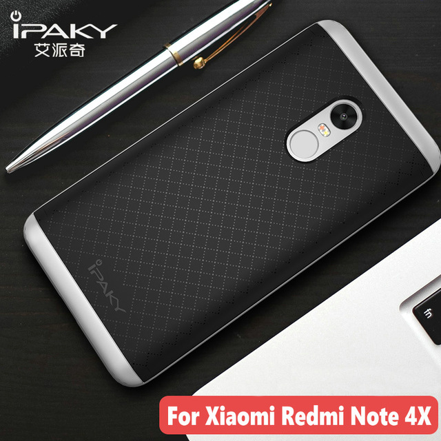 buy popular 3650d 8688c US $4.99 |iPaky For Xiaomi Redmi Note 4X Case Redmi Note 4 Global Version  Armor Silicone Back Cover PC Frame Soft Fundas Phone Cases-in Fitted Cases  ...