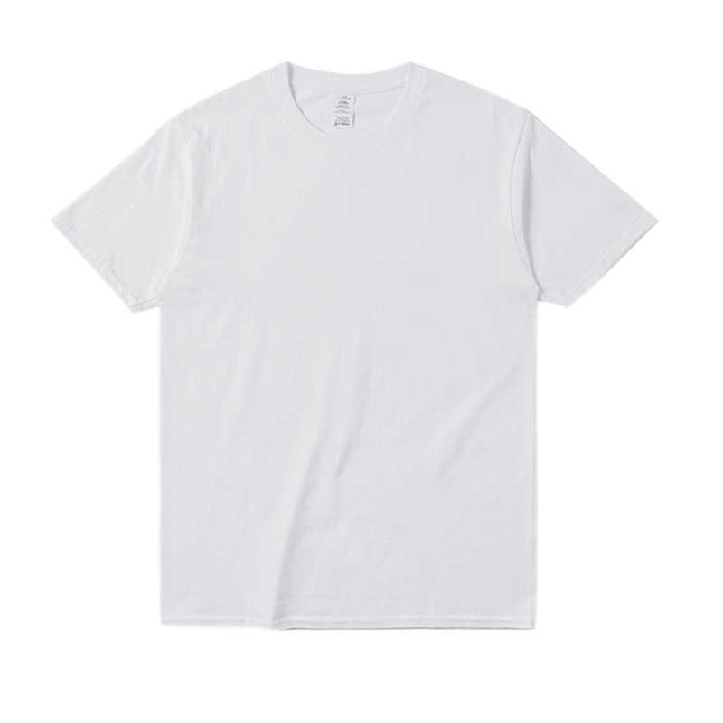 Mode Hip Hop Mannen Korte Mouw T-Shirt O-hals Oversized T-shirts Streetwear Effen Zomer Tee Tops NFE99