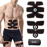 EMS Multi Function Electric Muscles Intensive Training Abdominal Arm Exerciser Body Slimming Weight Loss Slimming Massage