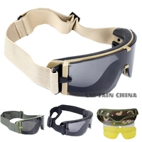 Military Airsoft Tactical Goggles Armee Taktische Sonnenbrille Gläser Armee Paintball Brille|x800 airsoft|goggles tacticalgoggles x800 -