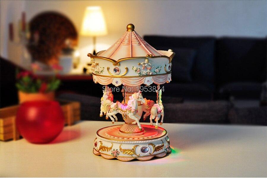 caixas musicais presentes de aniversário da menina decoração
