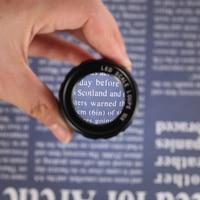 10X Multi use Illuminated Jeweler magnifier mini 8 LED Scale Loupe Portable 28mm magnifying glass Loupe+ Leather Case+ Gift Box