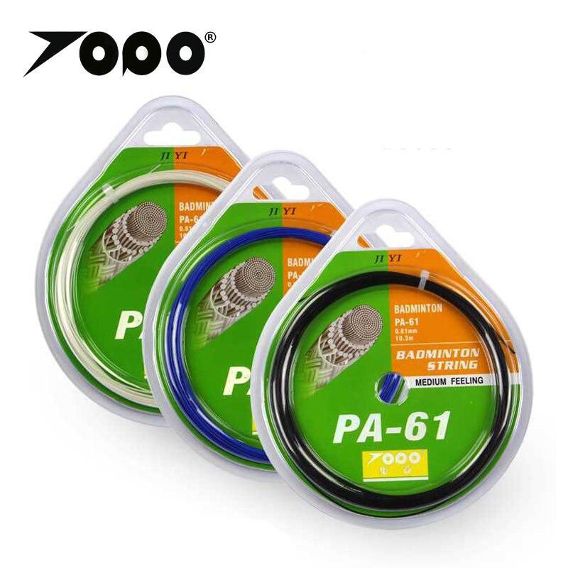 10pcs/lot TOPO Thinnest String PA61 Badminton String/Badminton Racket String