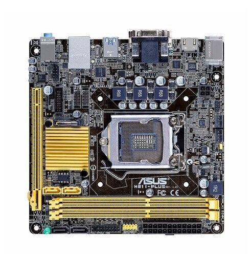 Carte mère originale ASUS H81I-PLUS LGA 1150 Mini ITX HTPC ordinateur carte mère de bureau carte mère