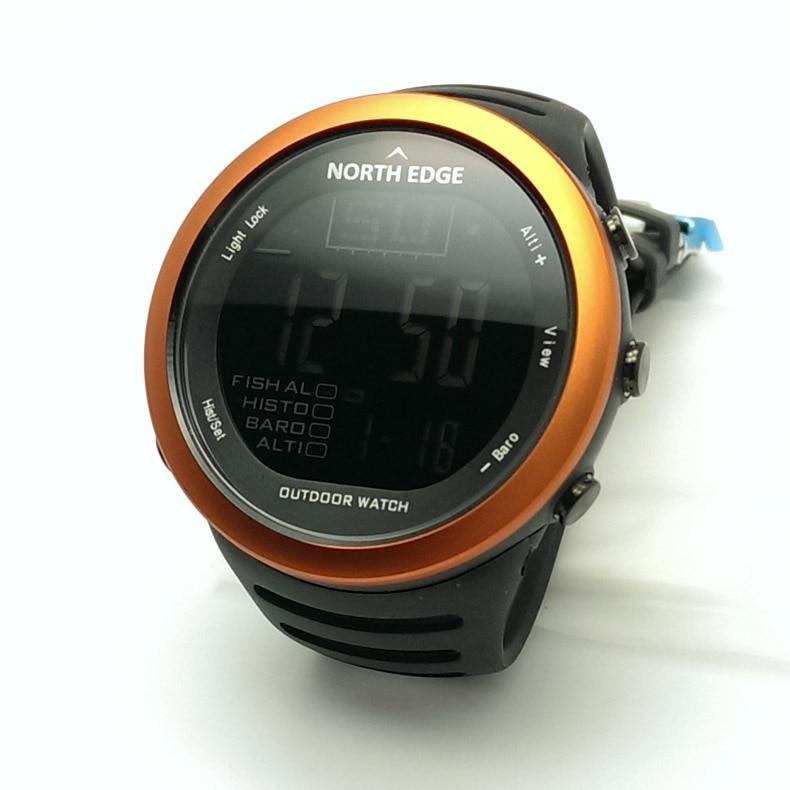 SUNROAD Мужские Цифровые спортивные часы FR861B Barometer часы компас высотомер температура плавательный туристические часы (синий) - 4