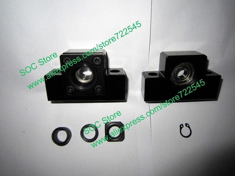 Pièces de CNC de Support d'extrémité de vis à billes EK12 et EF12