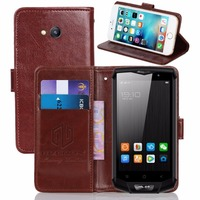 GUCOON Vintage Wallet Case for Blackview BV8000 Pro 5.0inch PU Leather Retro Flip Cover Magnetic Fashion Cases Kickstand Strap