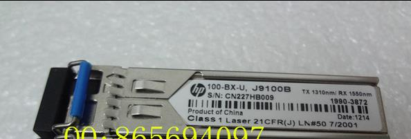 Free shipping! In stock 100%New and original   3 years warranty    J9100B  SFP  BIDI  20KM LC  new new packard j9100b c j9099b c sfp 15km fast single fiber bidirectional optical module bidi