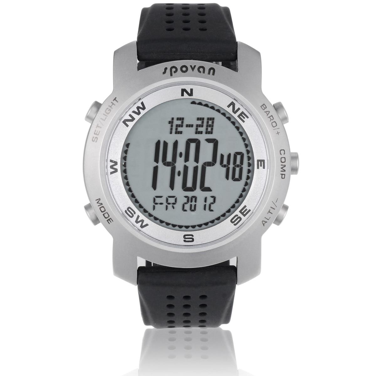 IWO8/W54 OGEDA лучший бренд класса люкс мужские часы серии 4 водонепроницаемые Модные Casul спортивные Цифровой Секундомер резиновый ремешок часы ... - 4