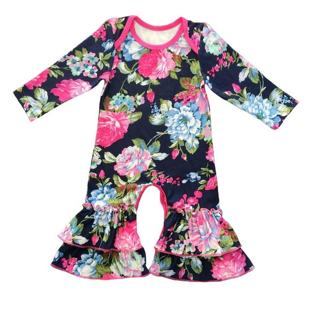 c3629e4c2c70 Fall Newest Design Newborn Clothing baby romper Baby Girl Long Sleeve  Cotton jumpsuit