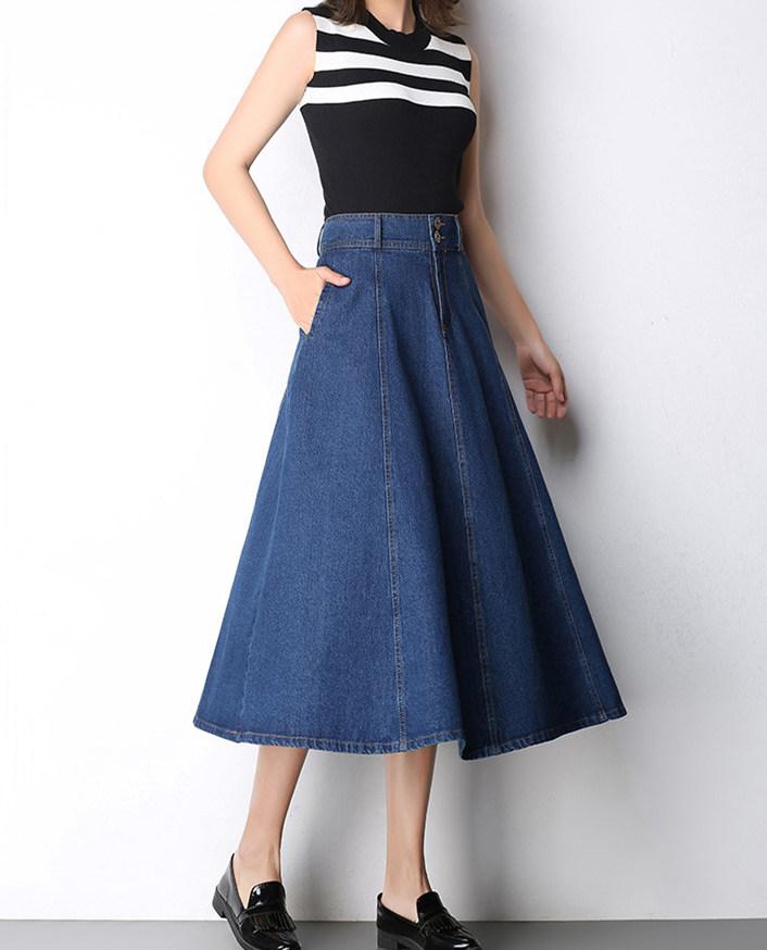 denim skirt (1)