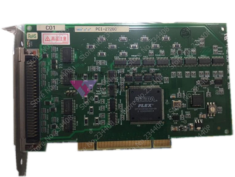 100% tested perfect quality Interface PCI-2726C industrial motherboard электробритва philips s5620