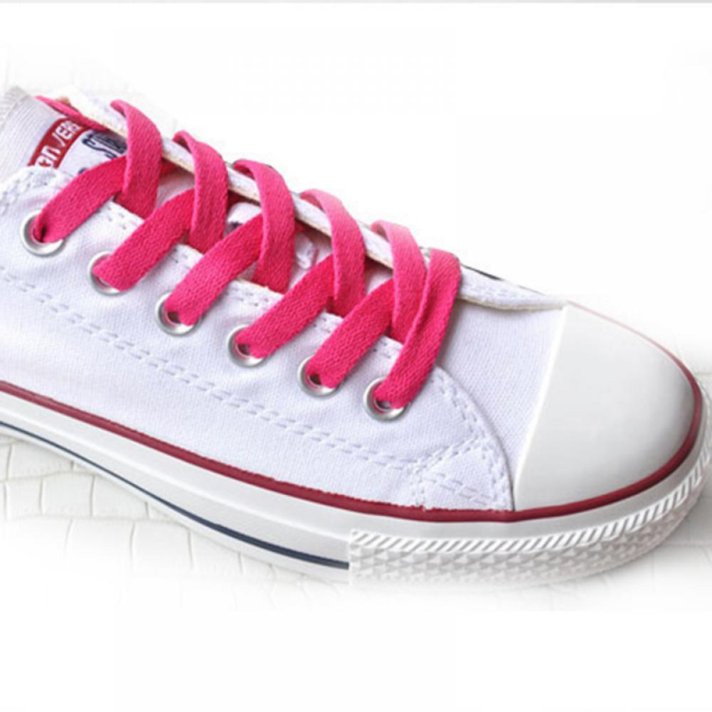 Bulk Buy Flat Shoelaces Hot Pink 100 Pairs Sneakers Flat Shoelaces Bulk Pack Shoestrings 70cm 80cm 90cm 100cm 120cm bulk buy darice crafts for kids shoelaces assorted animal prints 12 pack 2701 93