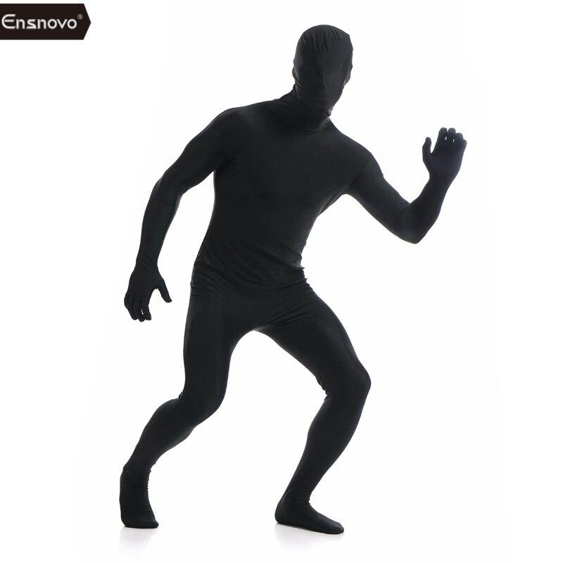 Skin Tight Halloween Costumes   Proion Ensnovo Mens Lycra Full Body Zentai Suit Custom Second Skin