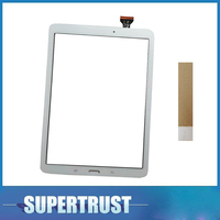 """9.6""""For Samsung Galaxy Tab E T560 / T561 / SM T560 / SM T561  Touch Screen Digitizer Glass Black White color with free tape