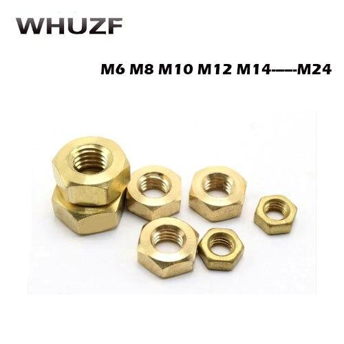 M4  M5  M6  M8  M10  M12  M14  M16  M18  M20  M22  M24 HEX FULL NUT ZINC PLATED