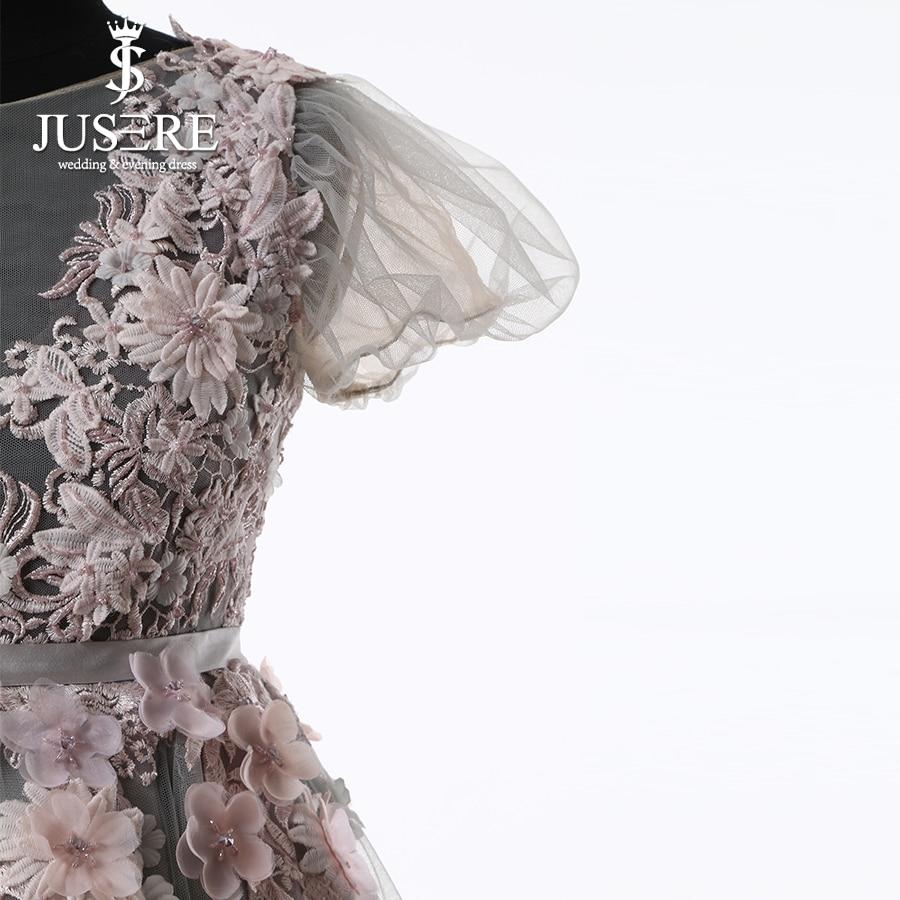 Kūdikių suknelė Pilka Tylos kūno gėlės Spalvinga plunksna - Suknelės vestuvėms - Nuotrauka 3