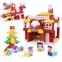 Children'S Building Block Toys House Building Construct Building Block Model Parent Child Interaction Gift Kids Educational Toys