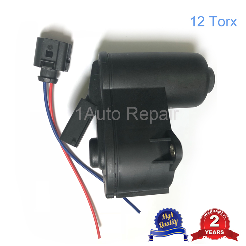 12 Torx Wheel Handbrake Caliper Servo Motor and Wire Harness for Volkswagen Passat Audi 3C0998281A 3C0998281B