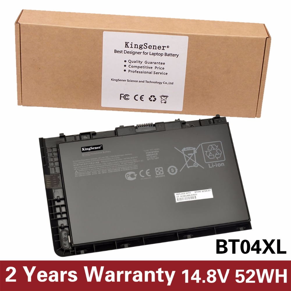 KingSener New BT04XL Laptop Battery for HP EliteBook Folio 9470 9470M Series HSTNN-IB3Z HSTNN-DB3Z HSTNN-I10C BA06 687517-1C1 laptop built in battery tr03xl for hp split x2 13 g110dx split x2 13 series tr03xl hstnn db5g hstnn ib5g hq tre 723922 171 72392