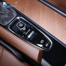 Скорости полета для Volvo XC60 XC90 S90 V90CC аксессуары салона наклейки Шестерни Кнопка Ручного Тормоза Обложка отделка украшения стайлинга автомобилей