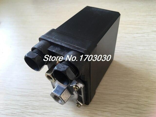 Di Pressione del Compressore daria Interruttore Valvola di Controllo 380 V 20A 175PSI 1 Porta 3 Fase